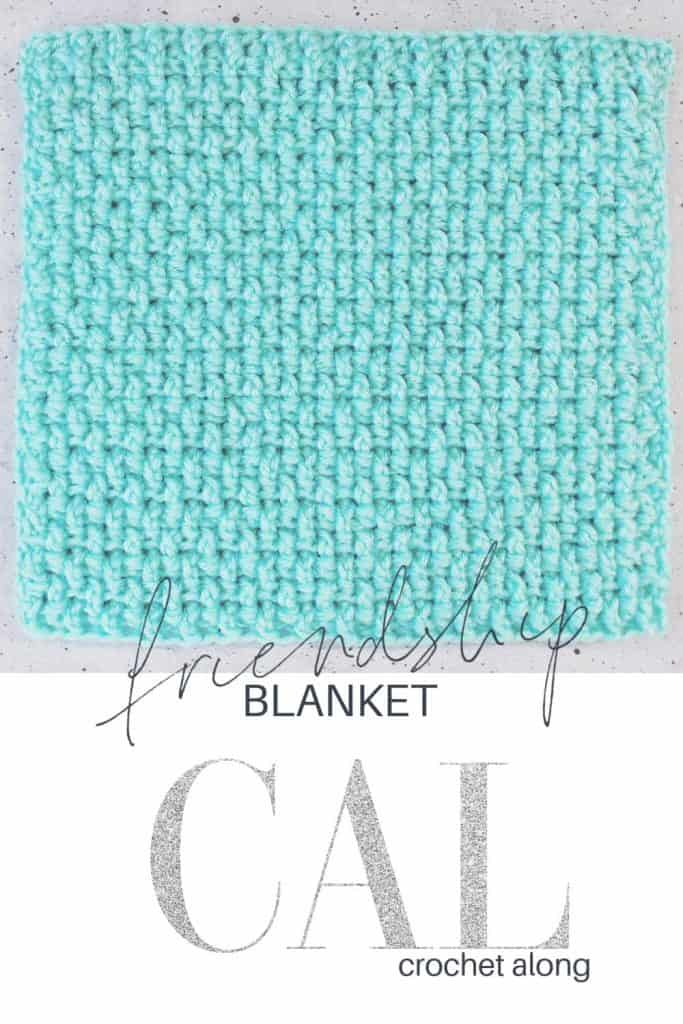 Blue square for blanket cal.