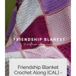 Pin image with text purple blanket.