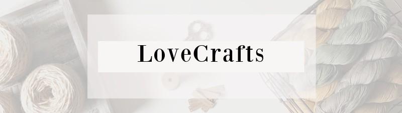 LoveCrafts button.
