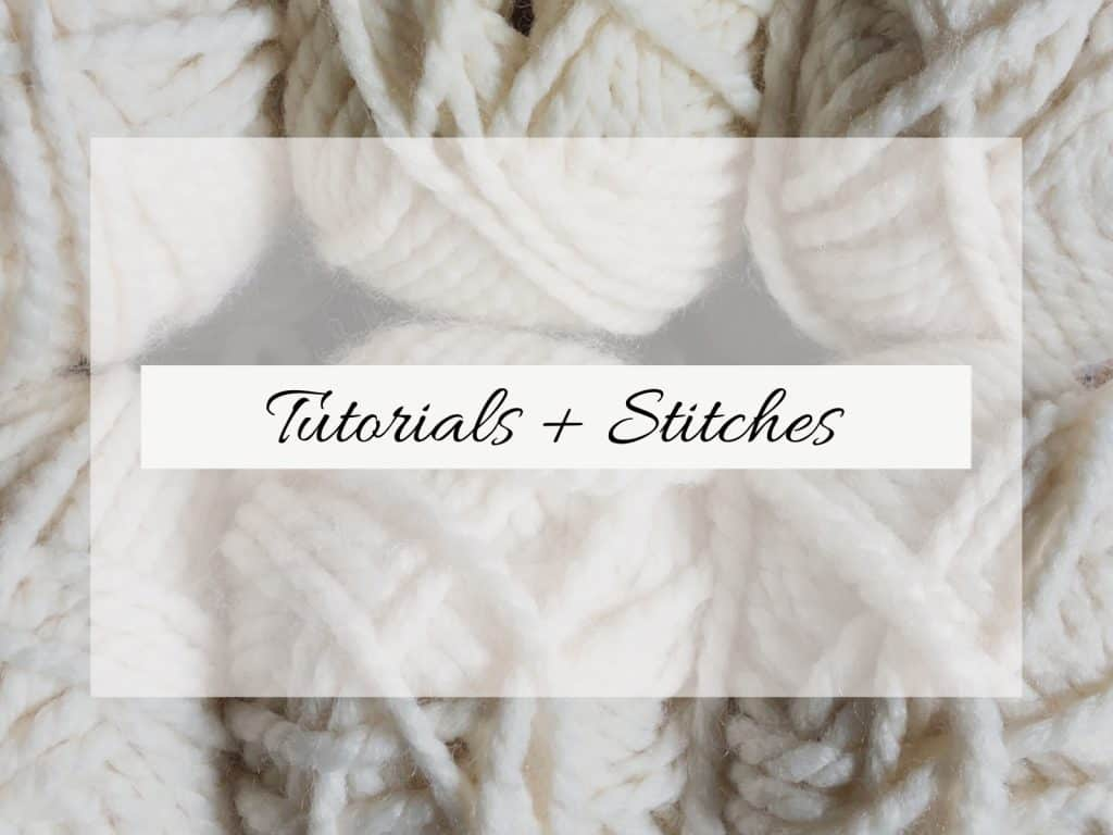 Tutorials and stitches on yarn.