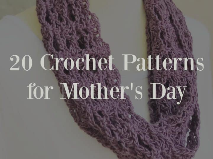 Purple cowl with text overlay.