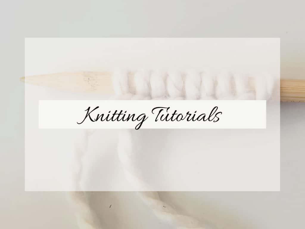Cast on knitting image.