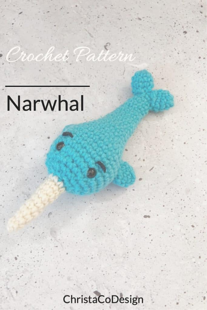 Pin image crochet narwhal pattern.