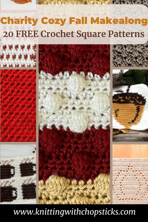 Pin image crochet blanket squares.